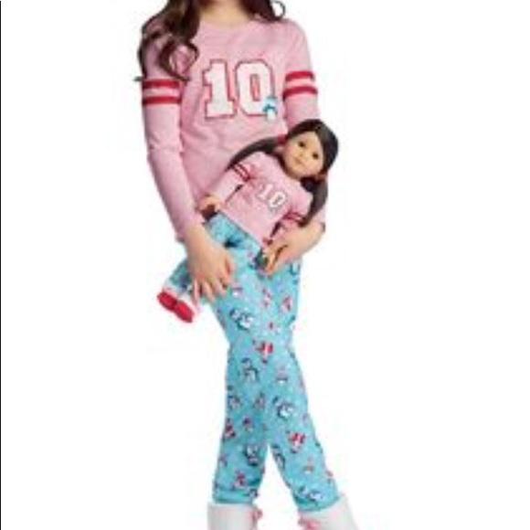 24dcadd5d7 American Girl Other - ❄️AMERICA GIRL- Penguin PJ s w Matching doll pj s